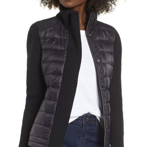 ANDREW MARC Mark NY Packable Knit Puffer Jacket